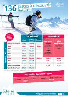 Skipass rates winter 2020-2021