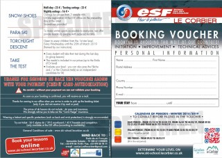 Booking Voucher ESF