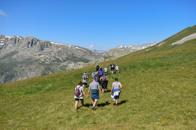 Guided hike tour
