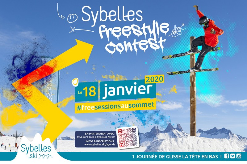 Sybelles Freestyle contest 18.01.20
